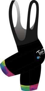 Twin Towns Tri Cycle Bib & Brace